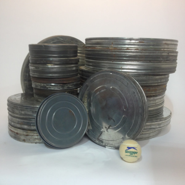 2: Small, Medium and Large 35mm Film Canisters