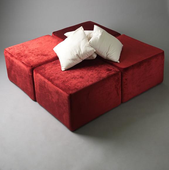 2: Red Velvet Squared Daybed