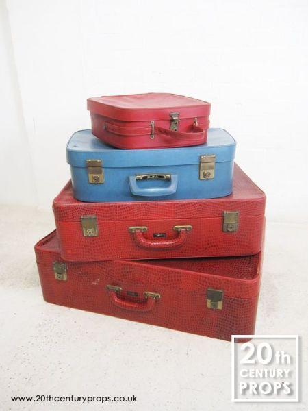 1: 1950/60's travel cases