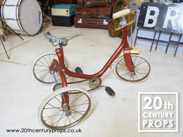 2: Vintage tricycle