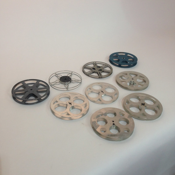 3: Medium Metal 8mm and 16mm Film Reels