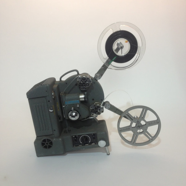 4: Grey Heurtier 8mm and 16mm Film Projector