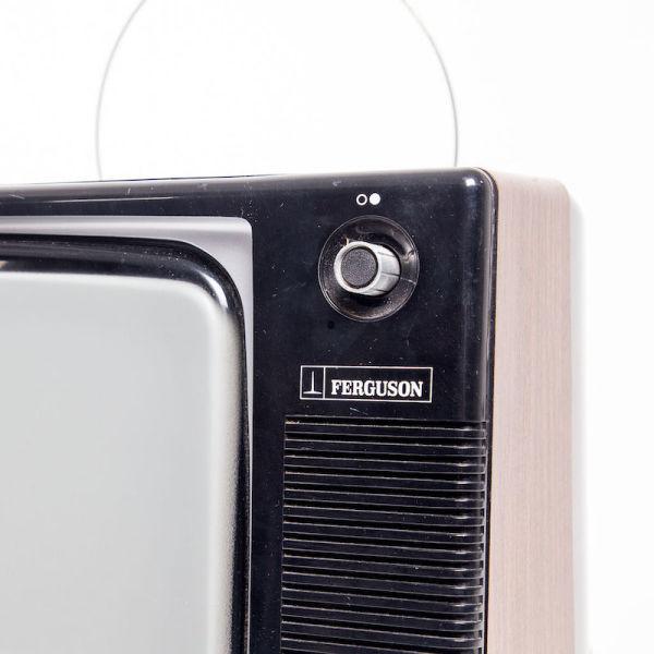 3: Fully working black & white 1970's Ferguson TV