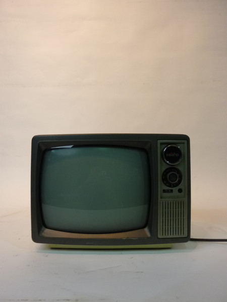 2: White Portable 1970's TV