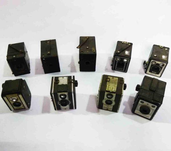 3: Vintage Box Cameras