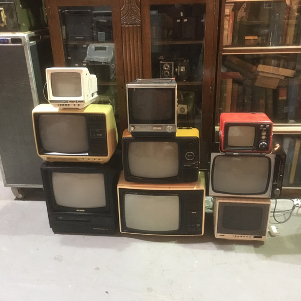 1: Vintage TV's - Fully Working