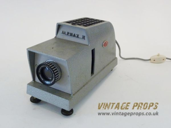1: Vintage slide projector