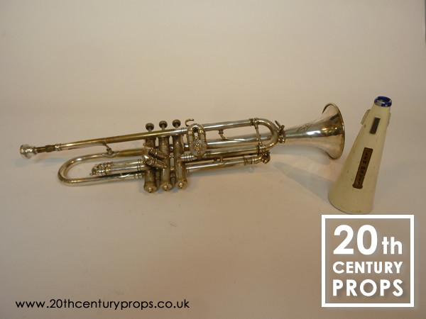 1: Vintage trumpet