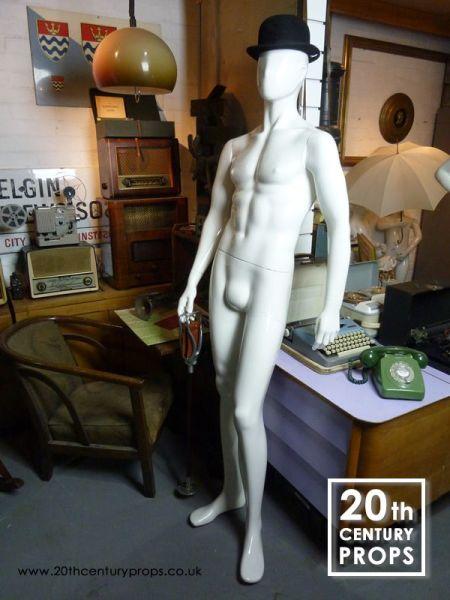 2: Male mannequin