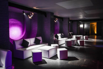 Event modular furniture, tables & poufs
