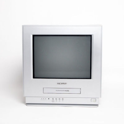 Non practical Samsung TV with VHS player