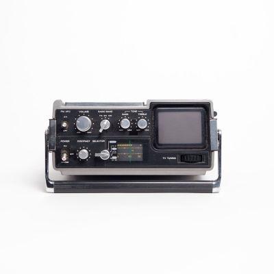 Non practical JVC mini portable TV/radio
