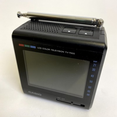 Non practical Casio LCD color television TV-7500