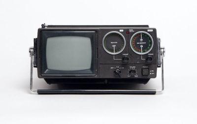 Fully working Crown mini portable TV/radio