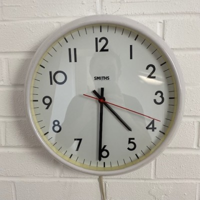Smiths vintage wall clock