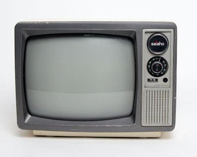 Fully working black & white Saisho TV