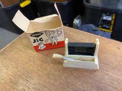 Vintage Nebro Jig Photographic Film Slide Mounter Box