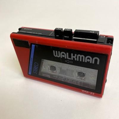 1980's walkman and headphones