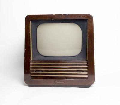Non practical vintage Continental wooden TV
