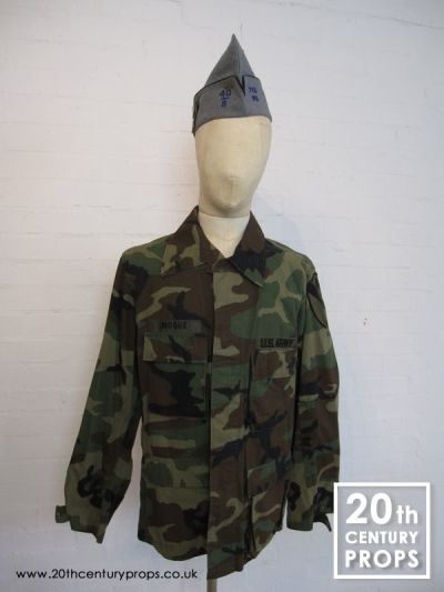 US Army jacket and beret