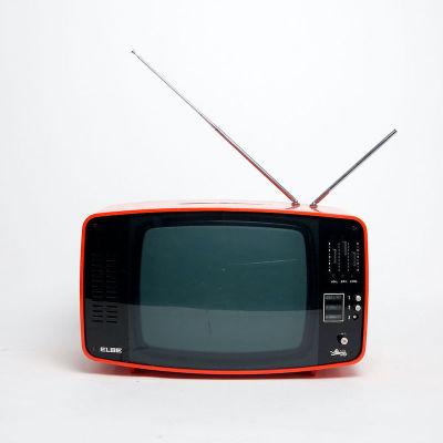 Non practical red Elbe 1960's retro Italian TV