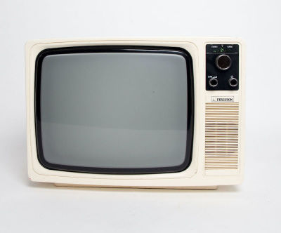 Fully working black & white Ferguson portable TV
