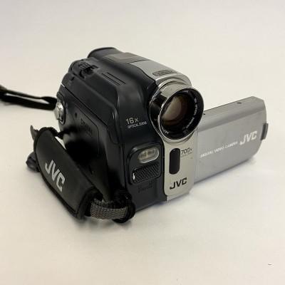 Fully working JVC handheld movie camera with AC adaptor and AV lead