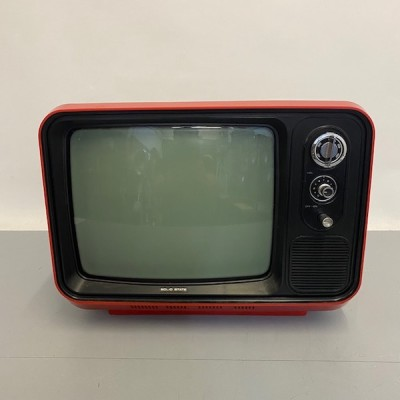Fully working black & white Solid State red TV