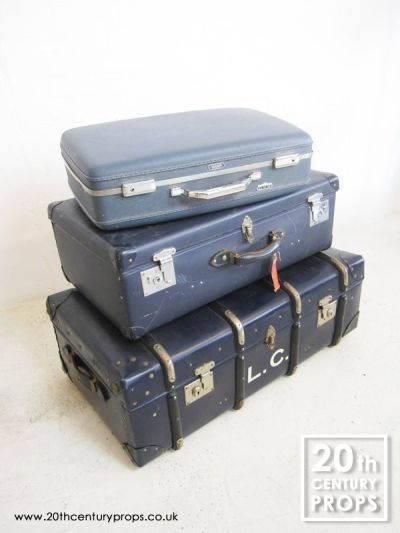 Vintage trunk and cases