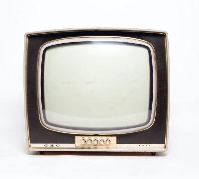 Non practical vintage wooden framed GEC Nineteen TV
