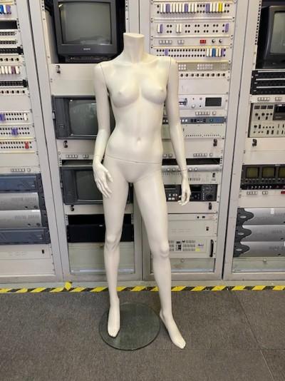 Gloss female headless mannequin