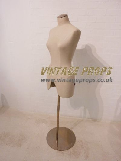Vintage style female mannequin