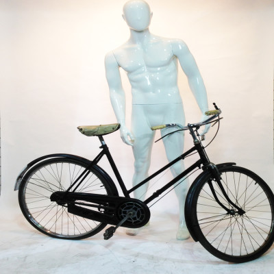 Black Vintage Ladies Lycett Bicycle