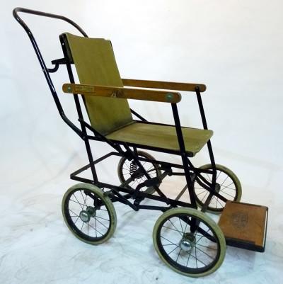 Vintage hospital wheelchair