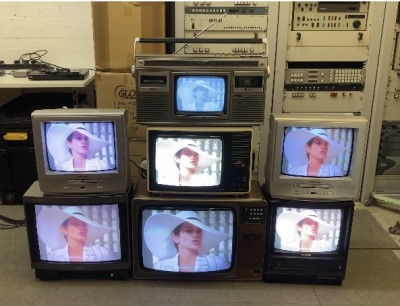 Stack of Fully Working Vintage TV's