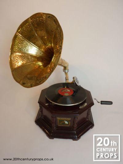 Vintage style gramophone