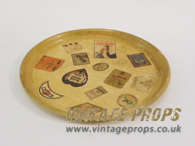 Vintage Drinks Tray