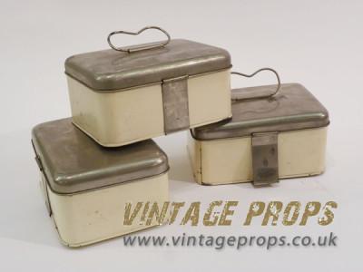 1950's picnic tins