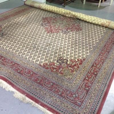 Large vintage Persian rug