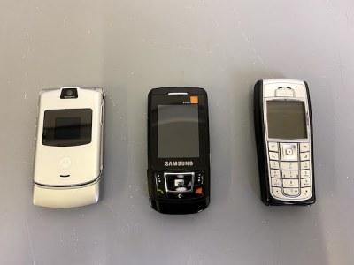 Retro Mobile phones