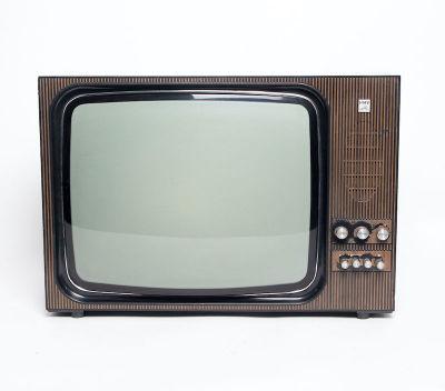 Non practical HMV vintage TV in wooden casing