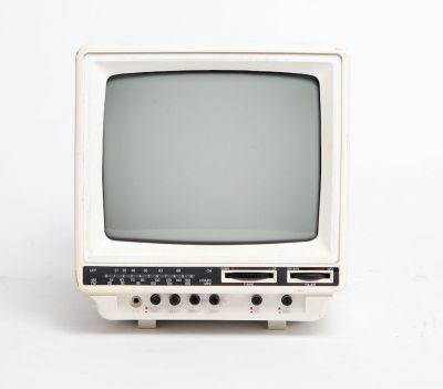 Non practical Sony mini portable white TV