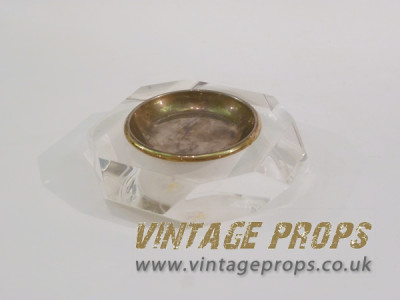1970's Lucite Ashtray