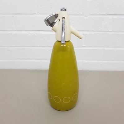 Green Vintage Soda Bottle