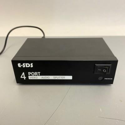 4 port AV splitter
