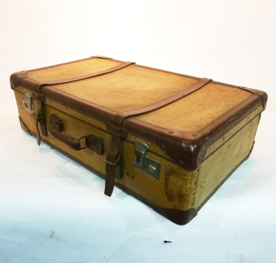 Large Yellow Suitcase