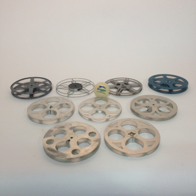 Medium Metal 8mm and 16mm Film Reels