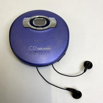 Retro Sony walkman with earphones