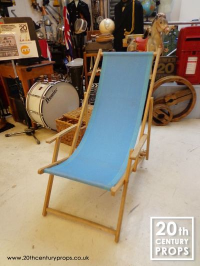 Canvas deck chair