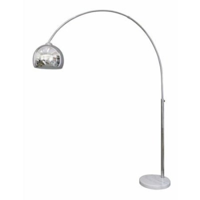 Mid-Century Style Chrome Arc Lamp